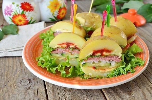 картофельные сэндвичи