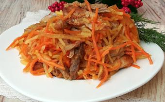 салат по корейски